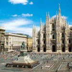 Милан. Италия.