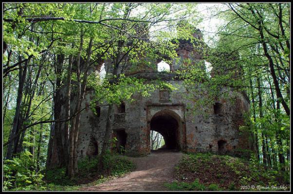 Загадочный замок Гербуртов