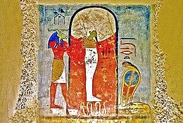 Образ Осириса в алькове