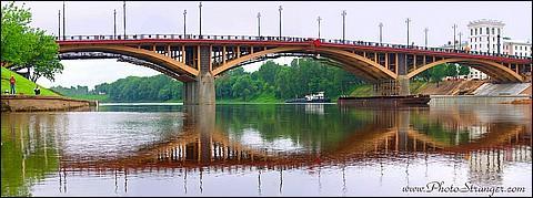 Панорама Кировского моста