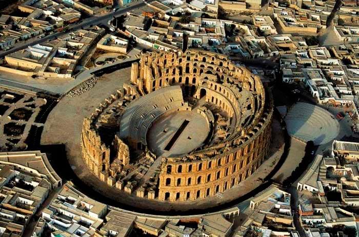 Древние развалины Туниса