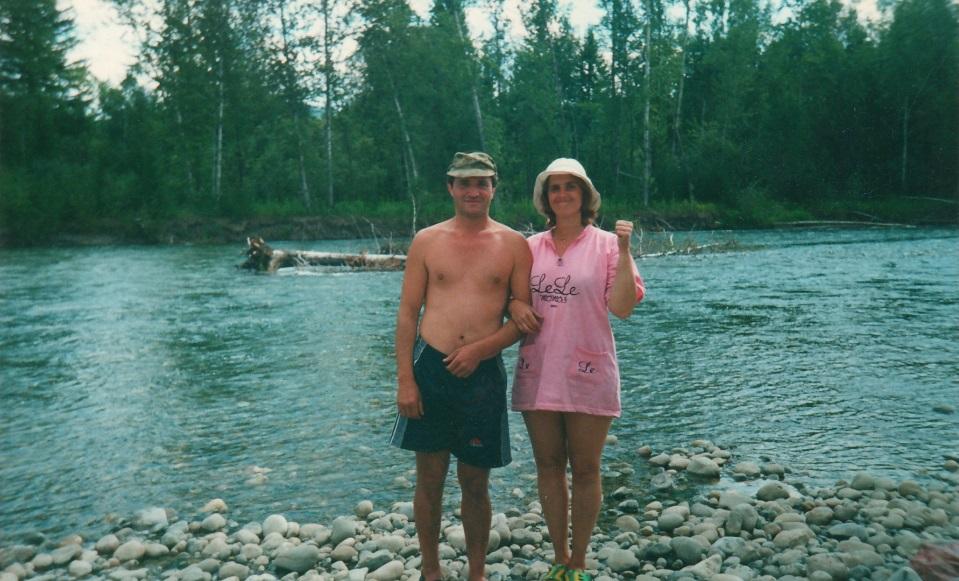 Мы на северной реке Туба