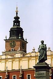 Суконные ряды и памятник Адаму Мицкевичу на Рыночной площади