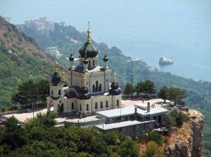 Полуостров-музей на Украине