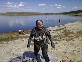 Лечебные грязи озера Лукьяновское Краснодарского края