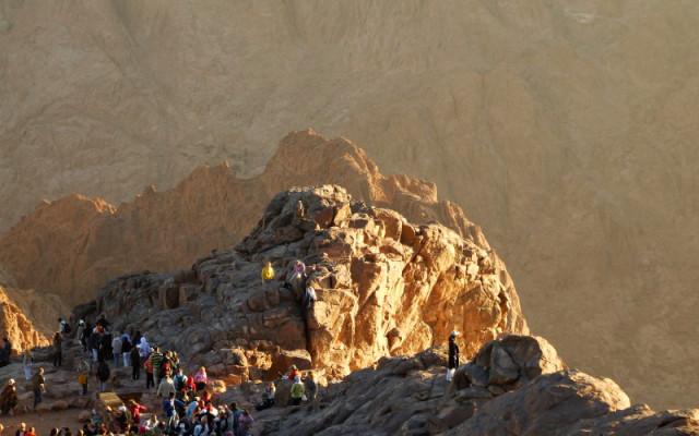 Библейская гора Моисея!