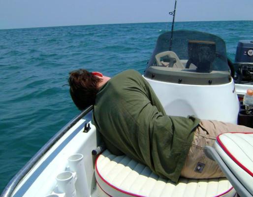 Туристу на заметку — морская болезнь!