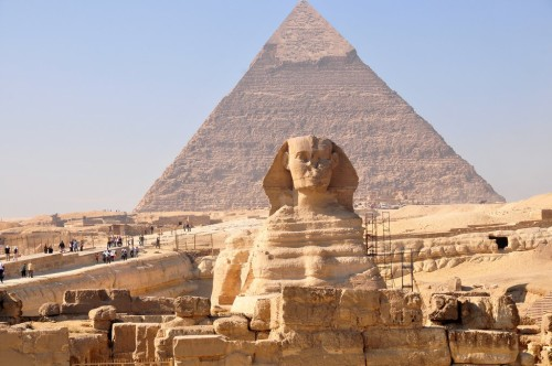 Первое чудо света: пирамида Хеопса