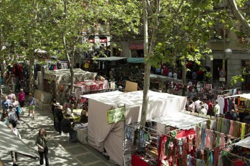 Воскресный рынок Эль-Растро