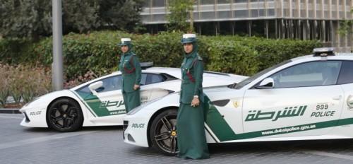 Женщины-полицейские, эмират Дубай
