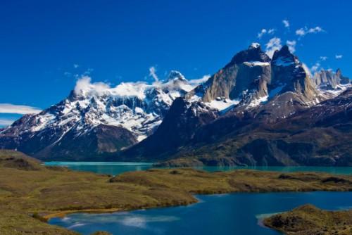 Национальный парк Торрес-дель-Пайне в Патагонии, Чили, Южная Америка