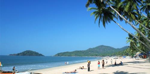 Palolem Beach, Гоа, пляж