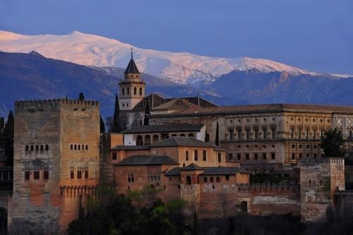 Альгамбра в Андалусии