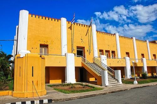 Знаменитые казармы Монкадо