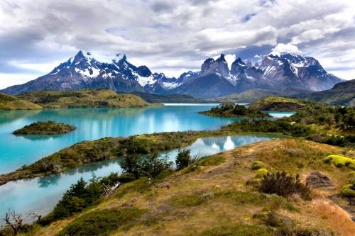 Озеро Пехое в паркерес-дель-Пайне